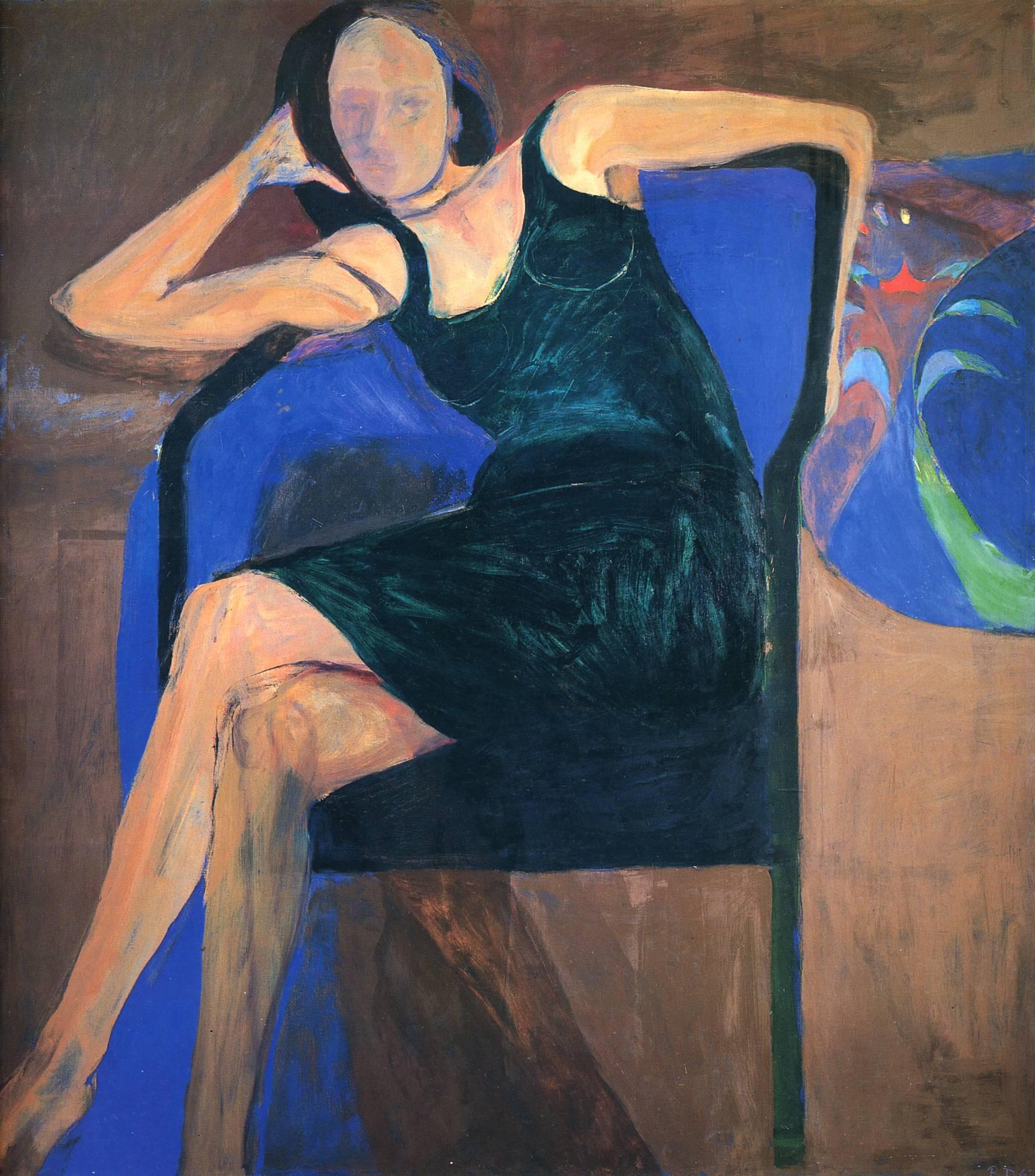 Seated WomanRichard Diebenkorn Paintings