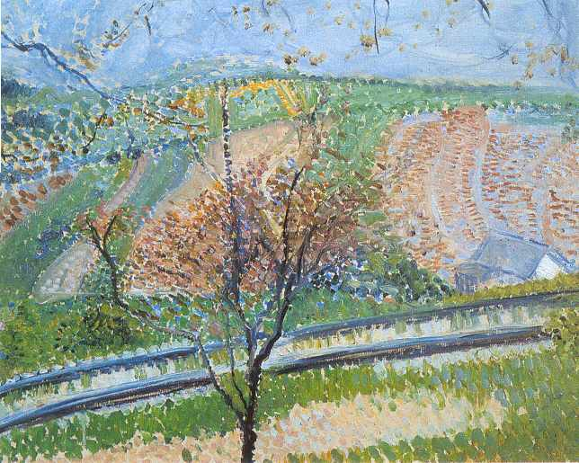 Railway to the Kahlenberg, 1907 - Richard Gerstl