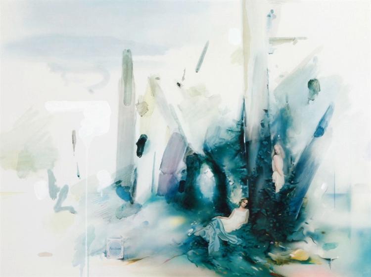 Soft Blue Landscape, 1979 - Richard Hamilton