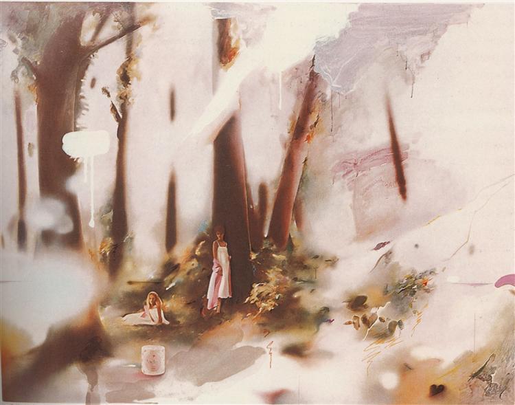 Soft Pink Landscape, 1980 - Richard Hamilton