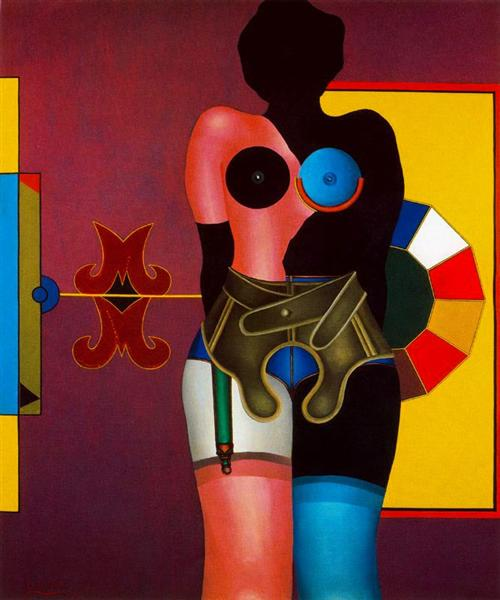 Marilyn Was Here - Richard Lindner