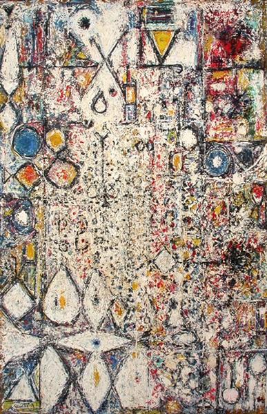 White Gothic #3, 1957 - Richard Pousette-Dart