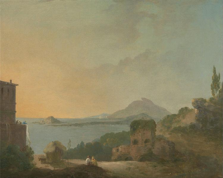 Cicero's Villa and the Gulf of Pozzuoli, 1780 - Richard Wilson