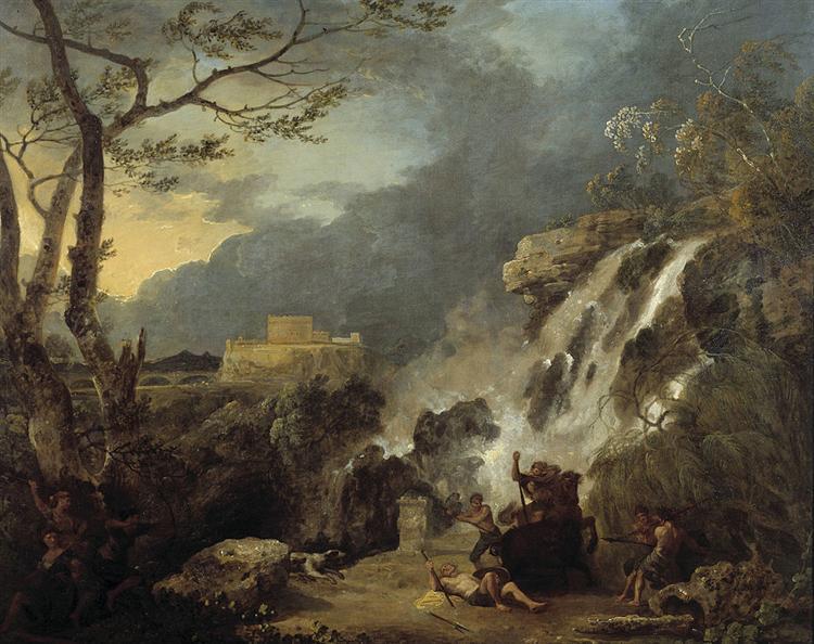 Meleager and Atalanta, 1770 - Richard Wilson