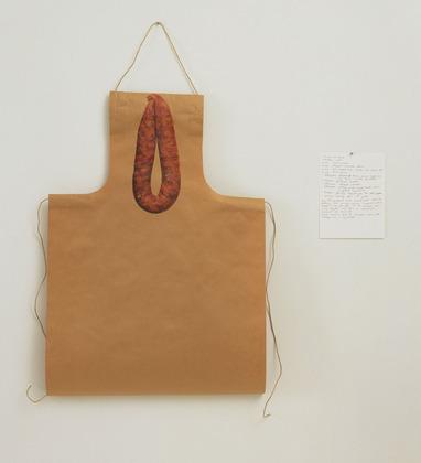 Untitled (apron and Thai pork sausage) - Rirkrit Tiravanija