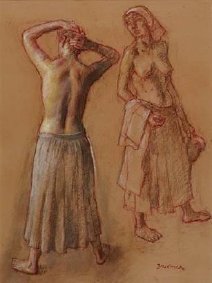Pastel - Robert Brackman