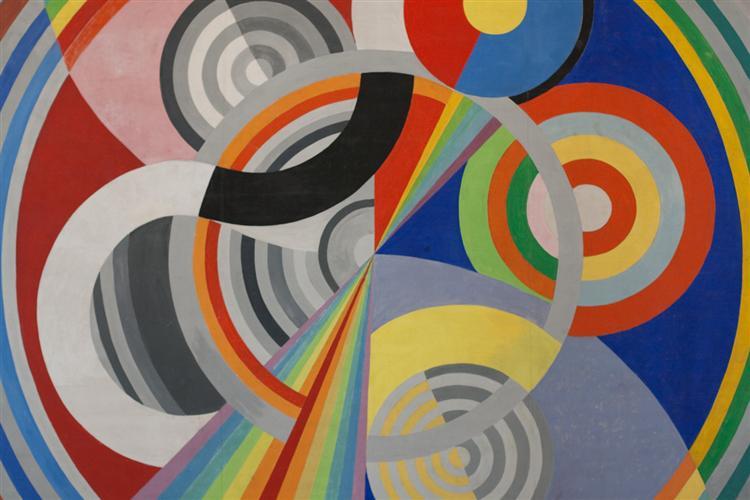 Rythm n.1, 1938 - Robert Delaunay