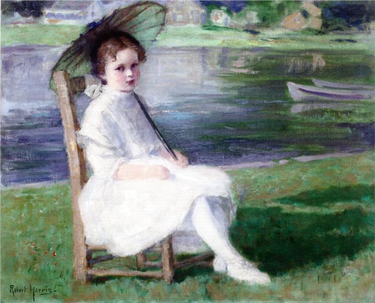 The Skipper's Daughter, 1908 - Robert Harris