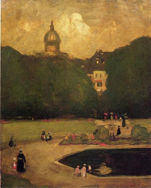 Au Jardin du Luxembourg, 1899 - Robert Henri