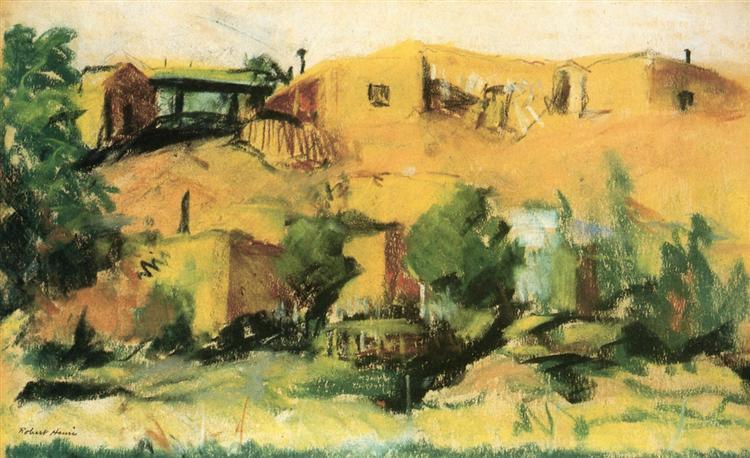 Indian Village, 1917 - Robert Henri