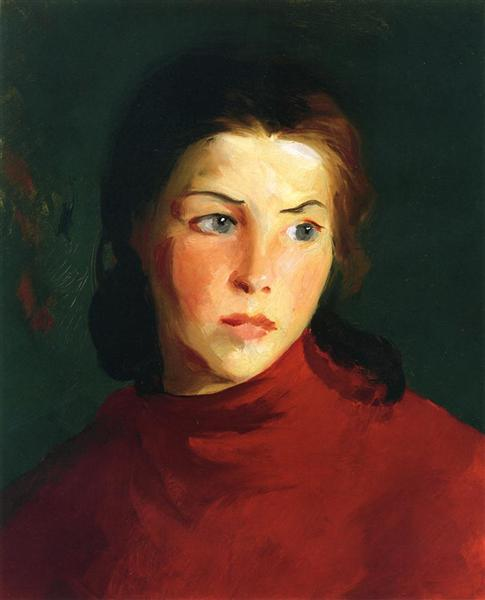 Irish Girl (Mary Lavelle), 1913 - Robert Henri