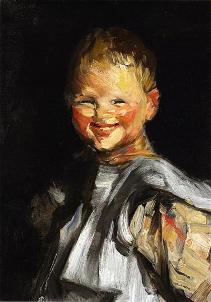 Laughing Child, 1907 - Robert Henri