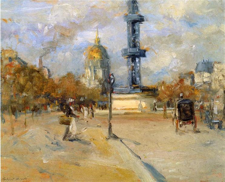Place in Paris, 1897 - Robert Henri