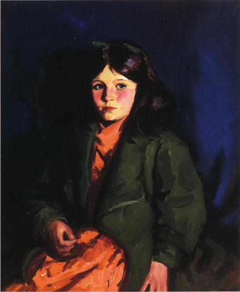 Portrait of Mary Patten, 1924 - Robert Henri