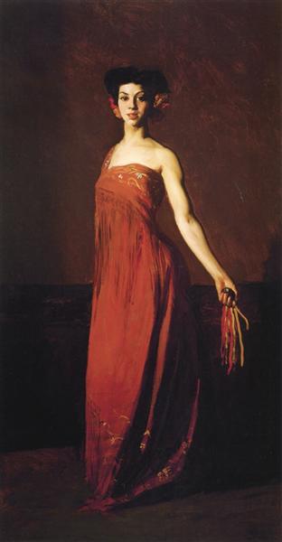 Spanish Dancer - Seviliana (also known as Dancer with Castanet), 1904 - Robert Henri