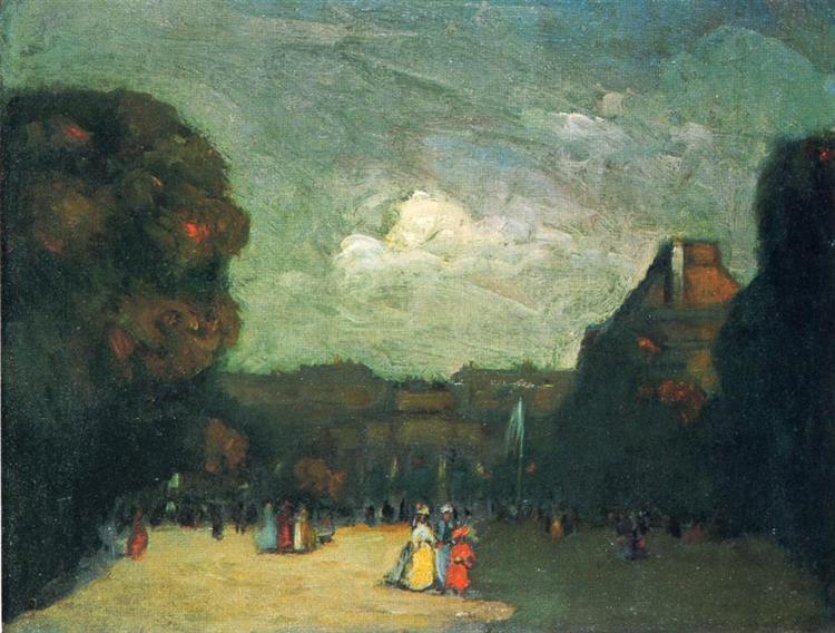 The Louvre - Robert Henri