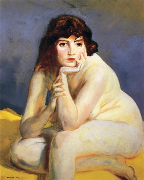 The Model Nude, 1915 - Robert Henri