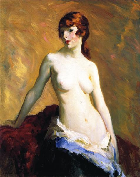 The Young Girl, 1915 - Robert Henri