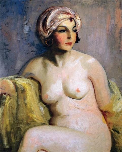 Zara Levy, Nude, 1923 - Robert Henri