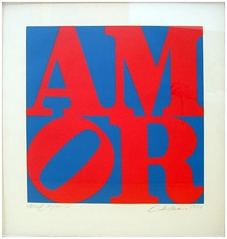 Amor, 1984 - Robert Indiana
