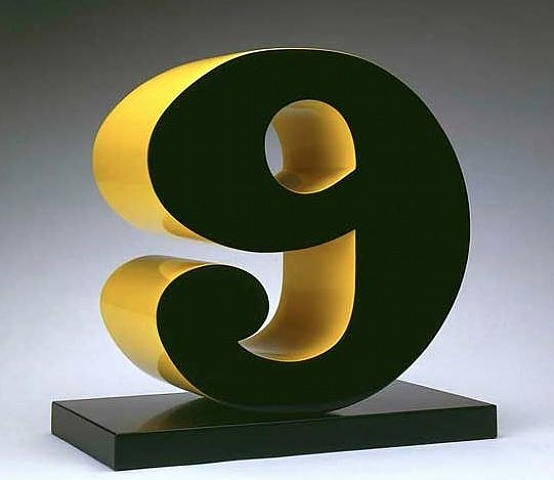 Nine, 2001 - Robert Indiana