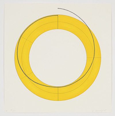 Ring A (Yellow) - Robert Mangold