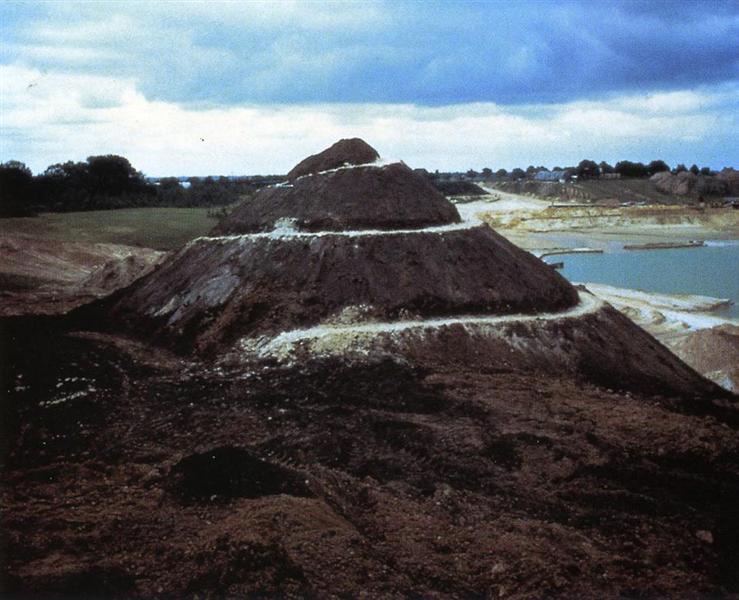 Spiral Hill - Robert Smithson