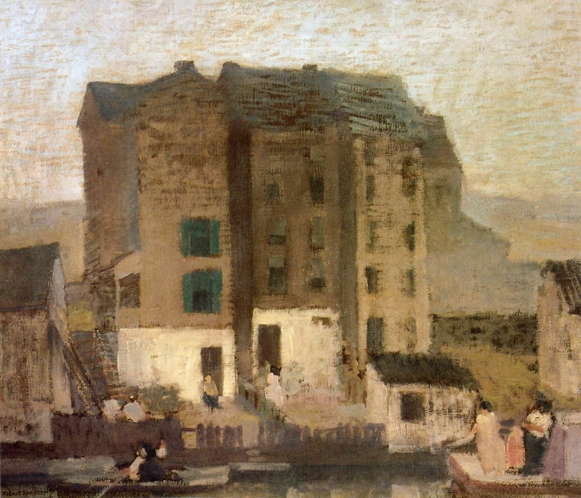 Misty Evening, 1911 - Robert Spencer