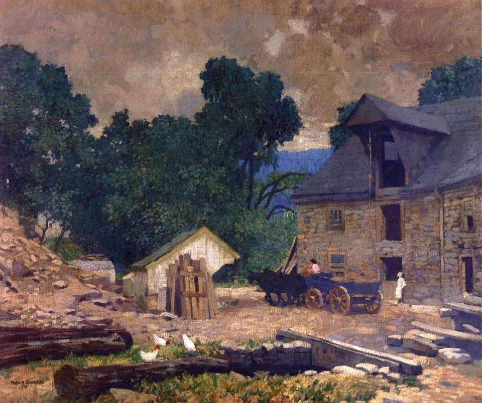 The Mill Yard, 1910