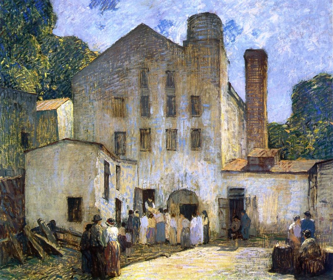The Silk Mill, 1912