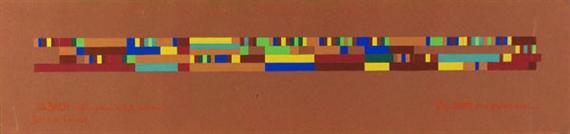 J. S. Bach, Wohltemp. Klav. Bd. I, No. IV. (Extrait) / (Duo de Tristesse), 1957 - Robert Strubin