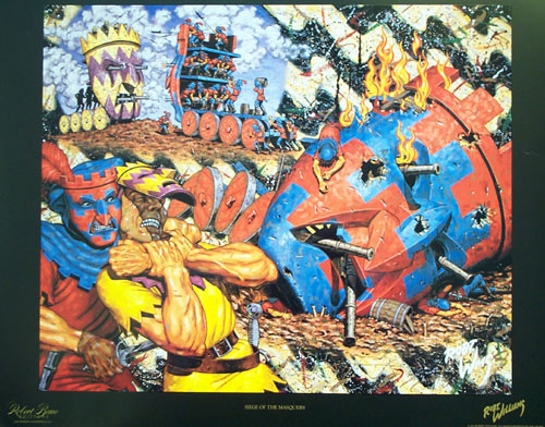Siege of the Masquers, 1993 - Robert Williams