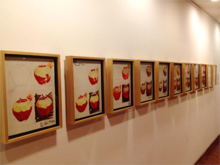 Apple Painting Lesson, 1982 - Roberto Chabet