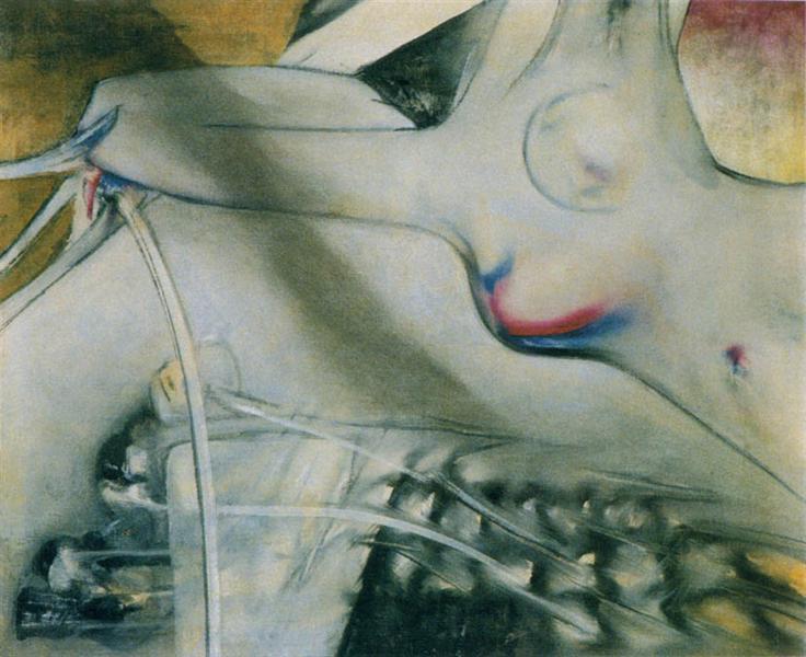 Nude, 1950 - Roberto Matta