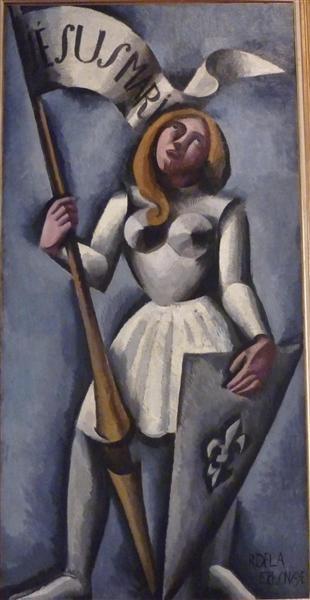 Joan of Arc, 1912 - Roger de La Fresnaye