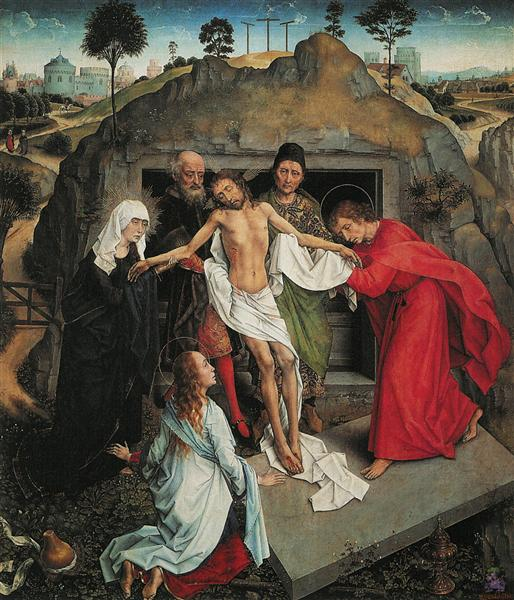 Lamentation of Christ, c.1460 - c.1463 - Rogier van der Weyden