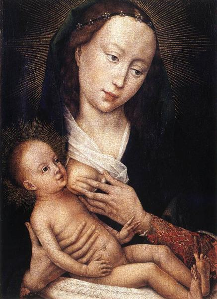 Madonna and Child, c.1450 - c.1459 - Rogier van der Weyden