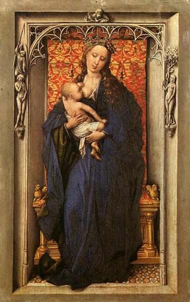 Madonna and Child, c.1440 - Rogier van der Weyden