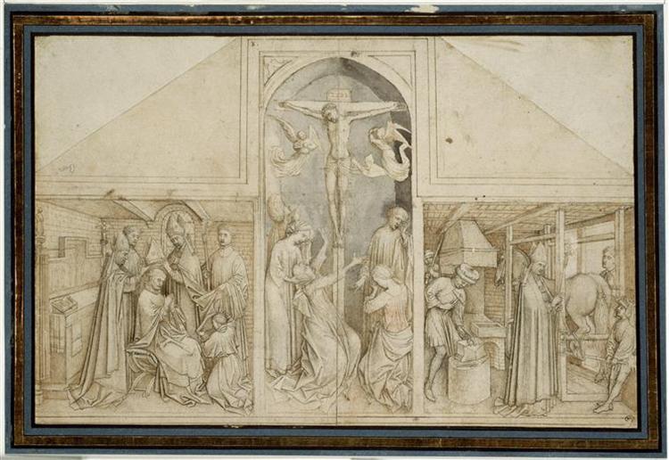 Triptych of St. Eloi - Rogier van der Weyden