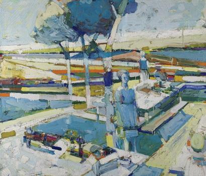 April Picnic, 1962 - Roland Petersen
