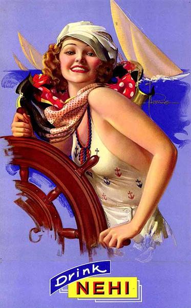 Nehi, 1937 - Рольф Армстронг