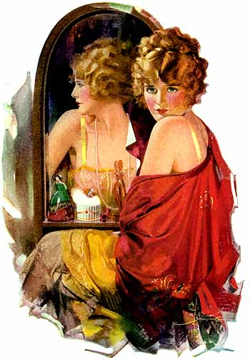 Palmolive (Is she pretty), 1924 - Rolf Amstrong