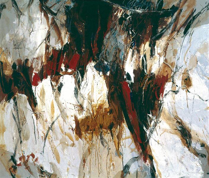 Underground Vegetal Structure XXV, 1988 - Romul Nutiu