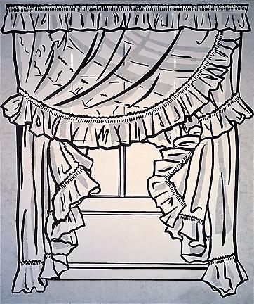 Curtains, 1962 - Roy Lichtenstein