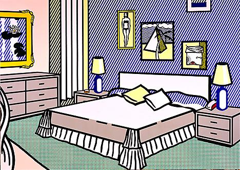 Interior with water lilies, 1991 - Roy Lichtenstein