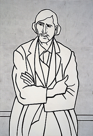 Man with folded arms, 1962 - Roy Lichtenstein