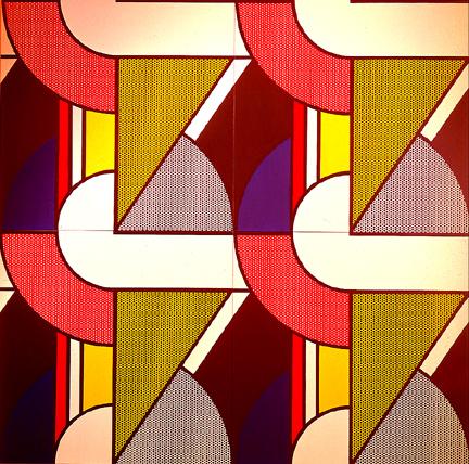 Modular painting with four panels, #2, 1969 - Рой Ліхтеншетейн
