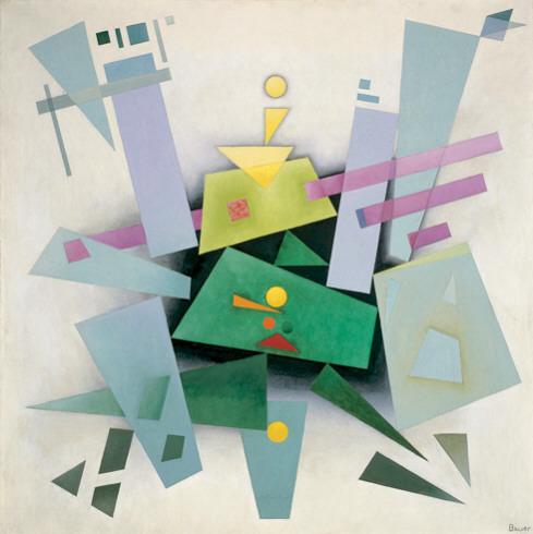 Invention (Composition 31), 1933 - Rudolf Bauer