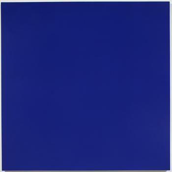 Painting No. 97—23 (Ultramarine Blue, Zinc White, Ruby Lake) - Рудольф де Криньи