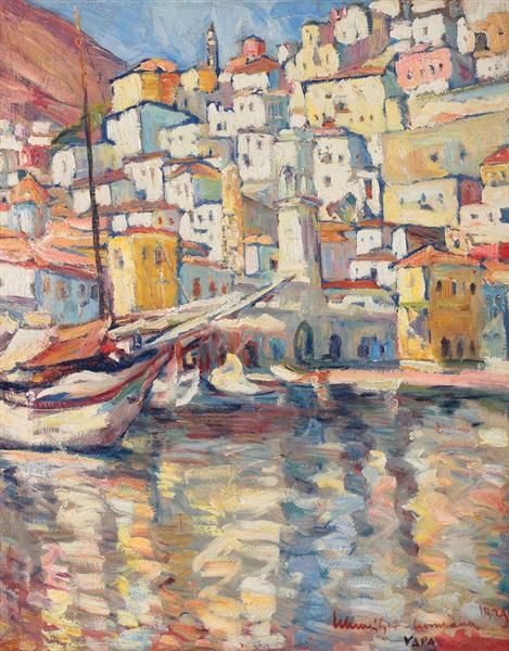 Hydra Port, 1929 - Rudolf Schweitzer-Cumpana